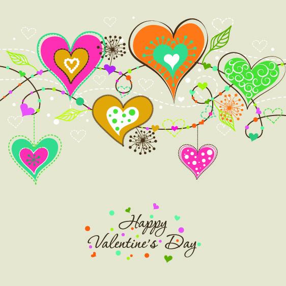 Прикольная открытка на день Святого Валентина 2015