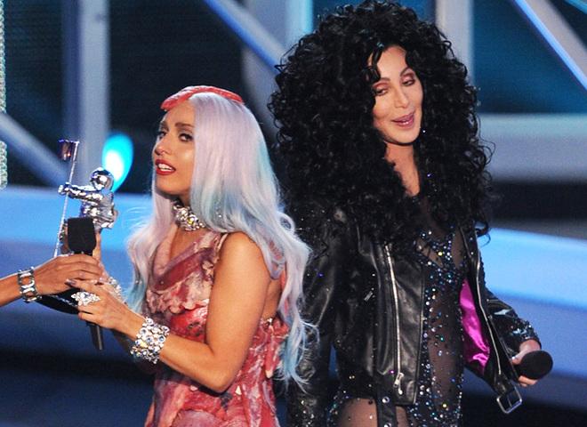 Леди Гага и Шер
