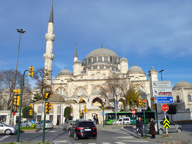 Великолепный век. Мечеть Шехзаде