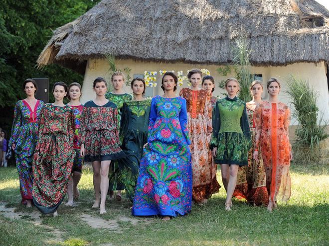 Коллекции Этно-fashion на фестивале «Країна Мрій»: Iryna DIL'