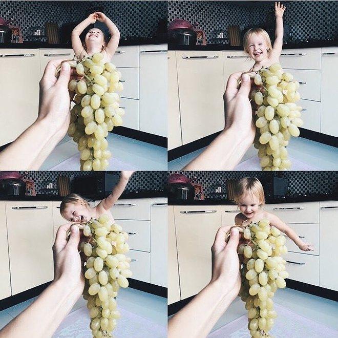 Съедобная фотосессия для ребенка от seasunstefani