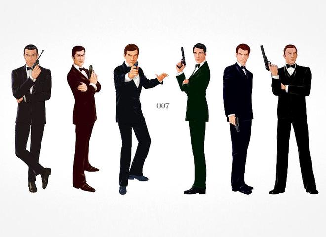 """""""Создавая 007: 50 лет стиля Бонда"""": в Париже открылась выставка, посвящённая Джеймсу Бонду"""