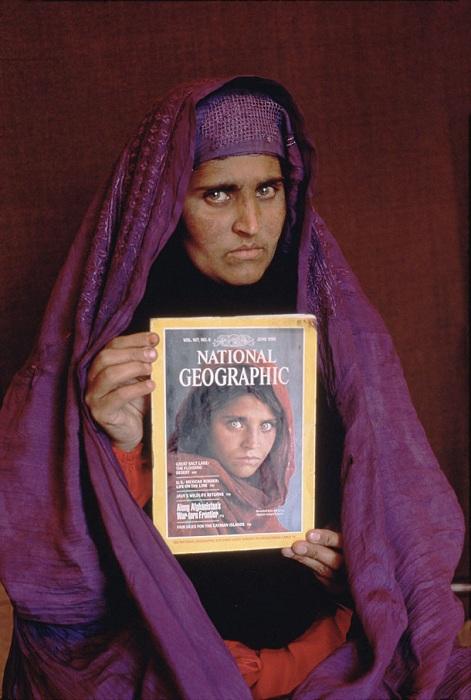 """У Пакистані заарештована знаменита """"афганська дівчинка"""" з обкладинки National Geographic"""