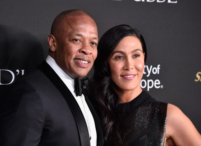 Dr. Dre и Николь Янг