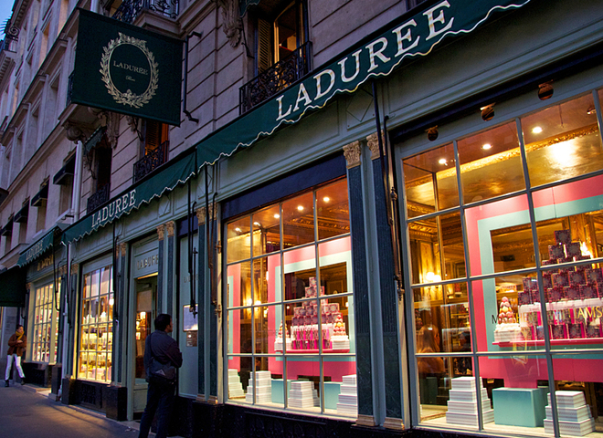 Магазин Laduree