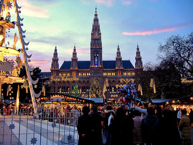 Різдвяний базар Відень