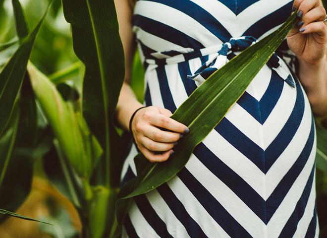 Місячні під час вагітності
