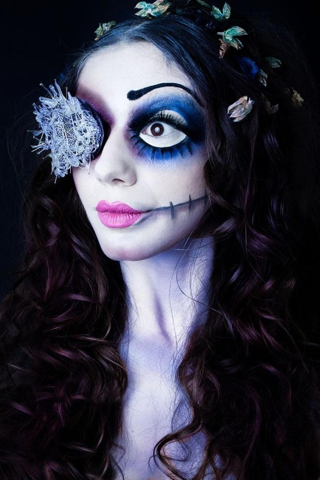идея для хэллоуина костюм и макияж фото спивак