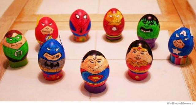 Топ самых креативных пасхальных яиц