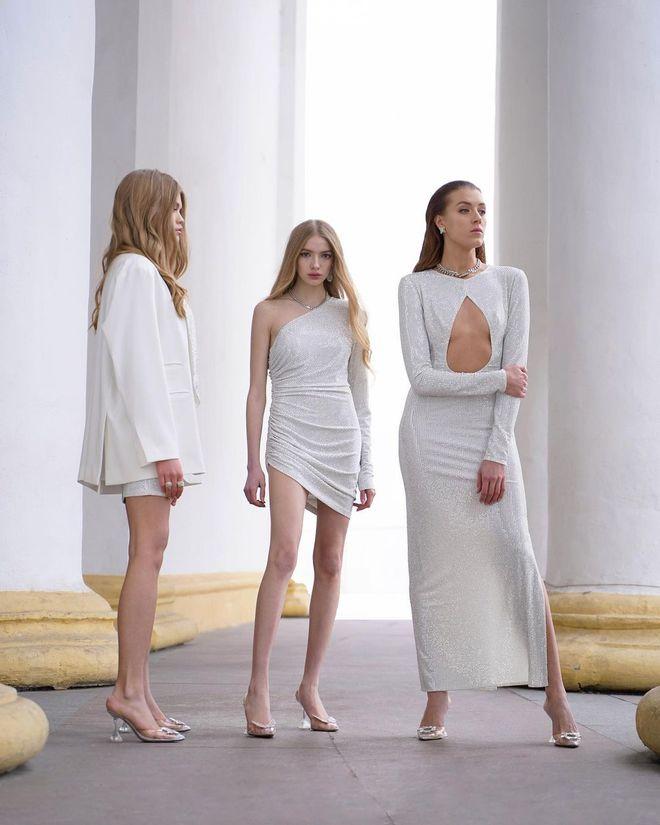 Минималистичные свадебные платья 2021-2022