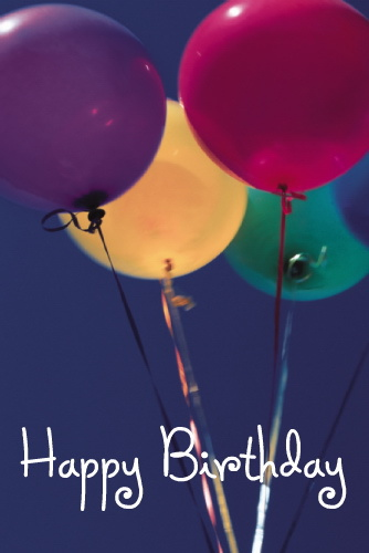 Радужного дня рождения