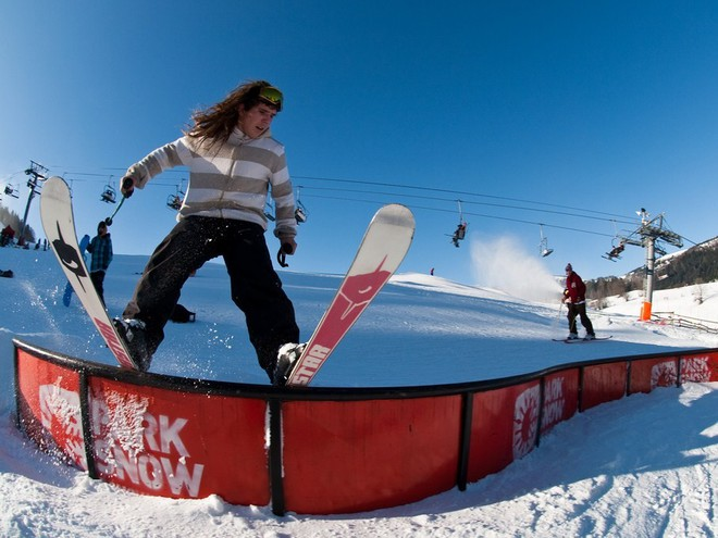 На лыжи за границу? Словения!