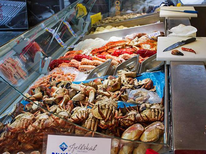 Рибні маркети Європи: Fish Market Bergen Norway