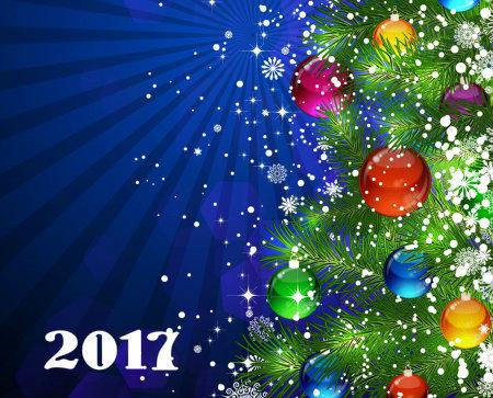 С Новым годом 2017