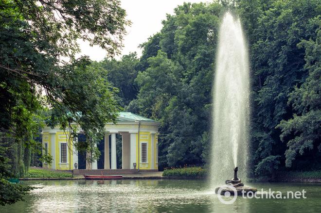 Лучшие дендропарки Украины