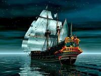 Корабль в 3д-графике
