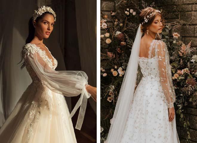 Свадебные платья по знаку зодиака: модные примеры 2021-2022
