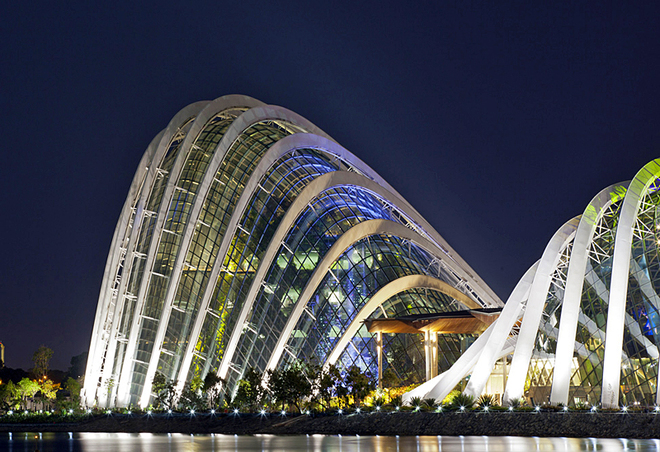 оранжереи Сингапура
