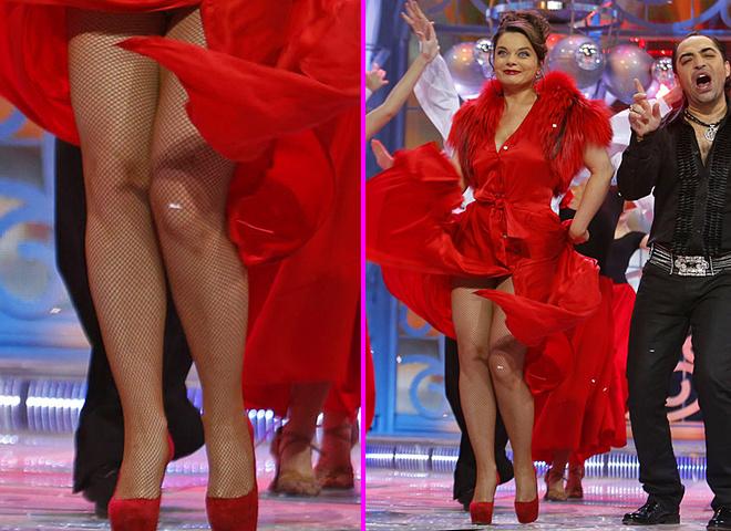 Наташа Корольова та її ноги
