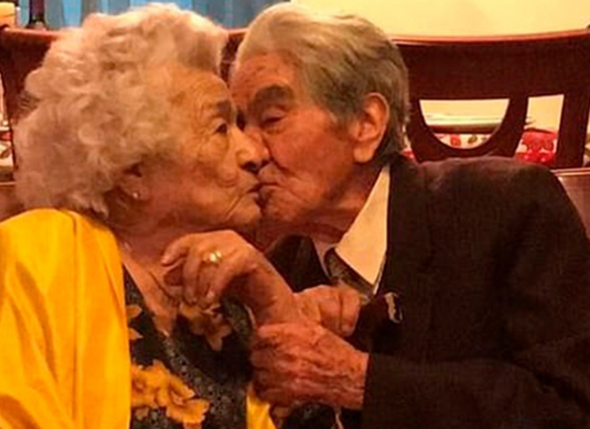 Старейшая пара в мире