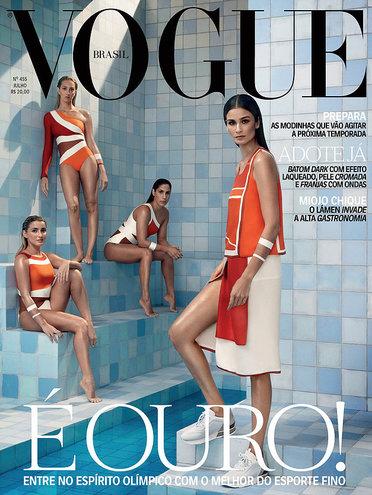 Vogue Brazil, июль 2016