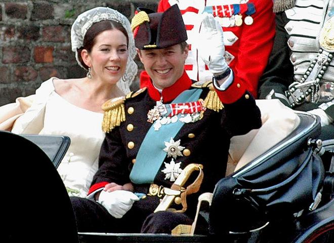 Принц Дании Фредерик и Мэри Дональдсон