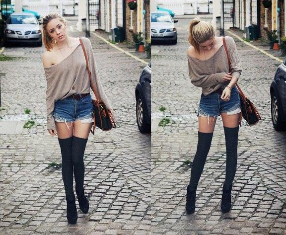 З чим носити гетри  одягайся стильно - tochka.net 9d72d944d8e16