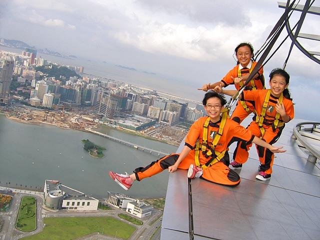 7 самых высоких банджи-прыжков: Башня Макао (Китай)