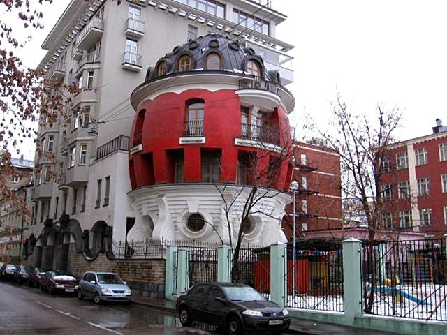5 зданий от которых потекут слюнки у туристов: Дом-яйцо, Россия