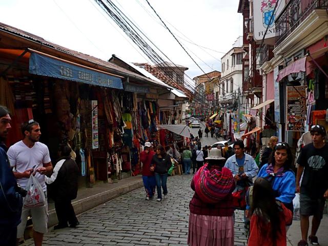 Магазин ведьм в Боливии