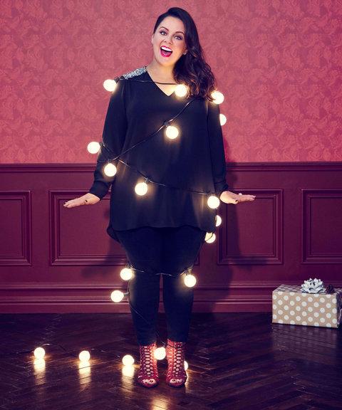 Мелисса Маккарти в новогодней кампании Seven7