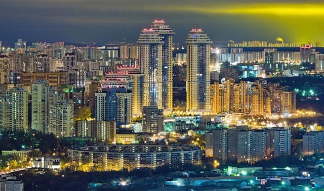 Москва з висоти
