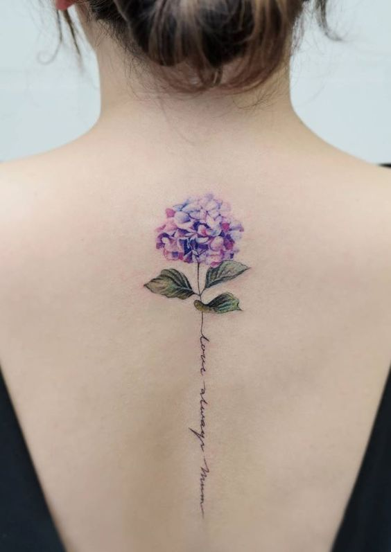 Цветные татуировки: интересные идеи тату для девушек и мужчин
