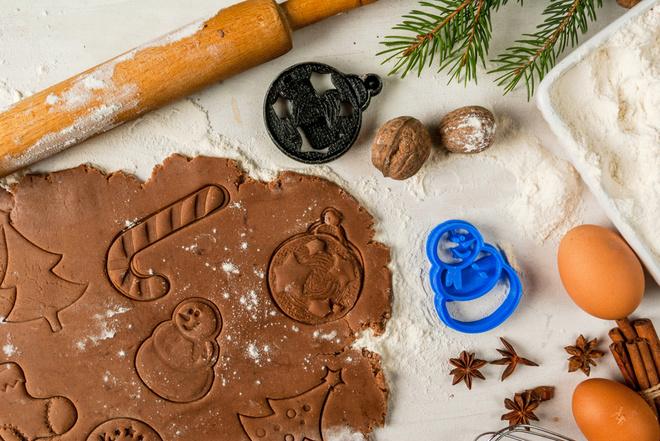 Имбирное печенье на Новый год 2017 -