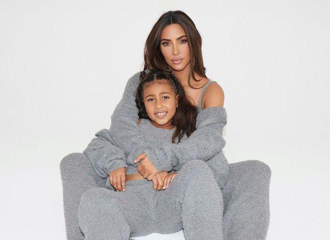 Кім Кардашьян з донькою Норт