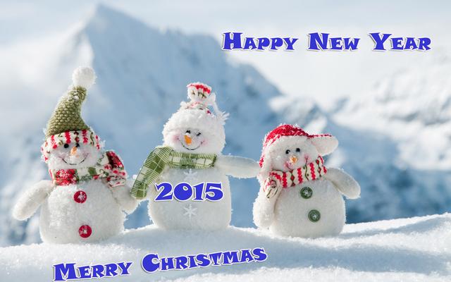 Няшного Нового года и Рождества 2015
