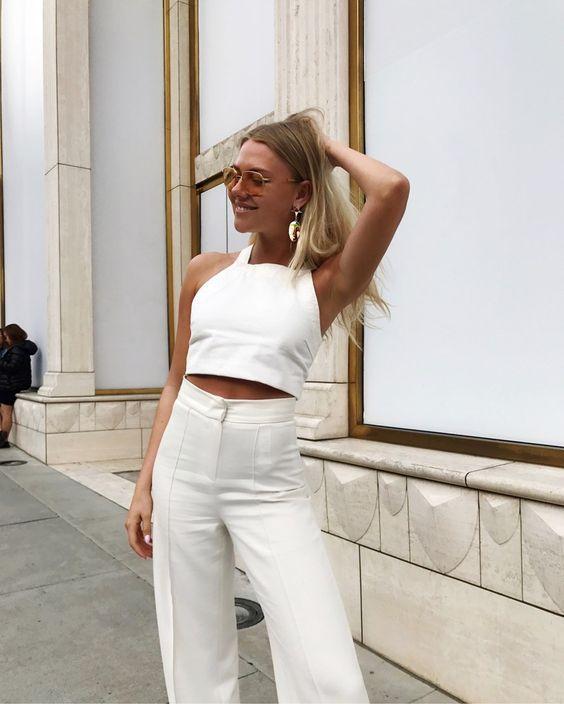 На все случаи жизни — 25 total white образов на лето 2020