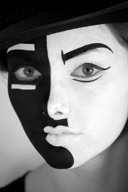 Необычный макияж на Хэллоуин