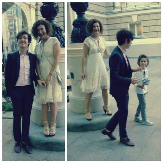 Дмитрий Шуров с семьей