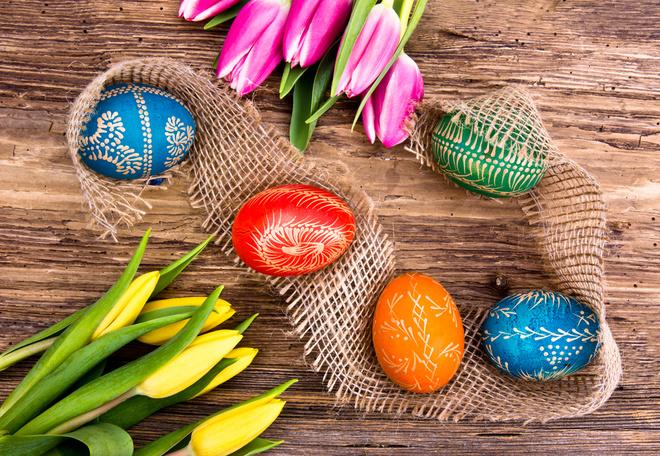 Вопрос-ответ: Зачем на Пасху красят яйца?