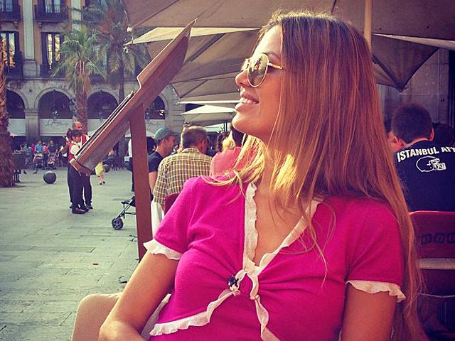 Виктория Боня в Барселоне