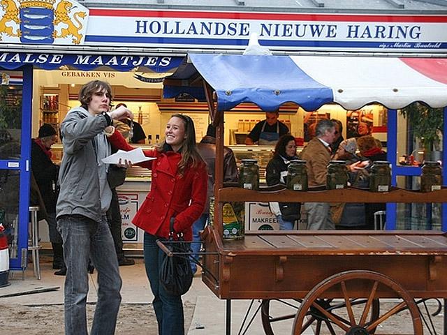Города с самой вкусной уличной едой: Амтсердам