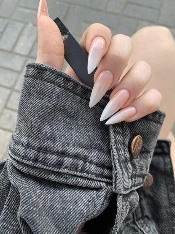 Форма ногтей стилет — тренд маникюра