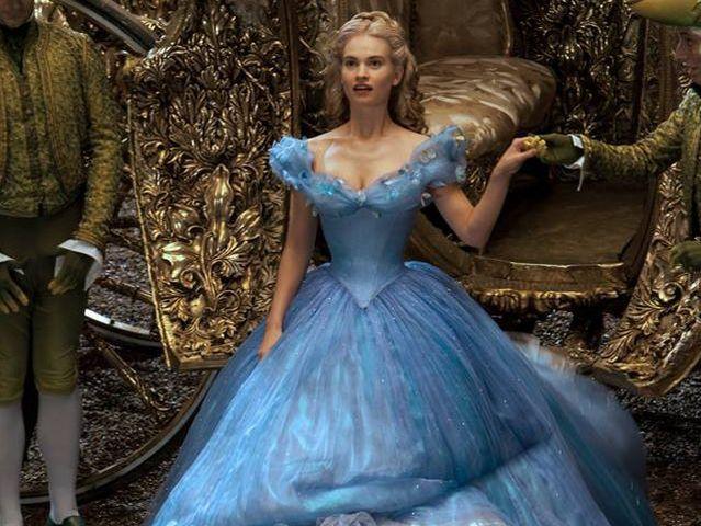 Платье как из фильма золушка