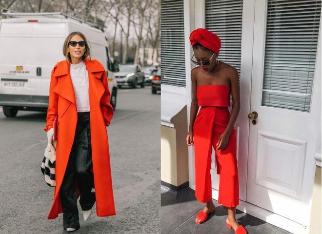 Червоний мандарин - модний колір на осінь 2020
