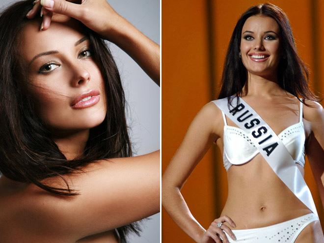 Оксана Федорова, «Мисс Вселенная 2002»