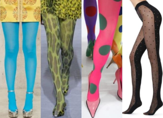 Как носить необычные колготки: советы стилиста Анны Лебедь