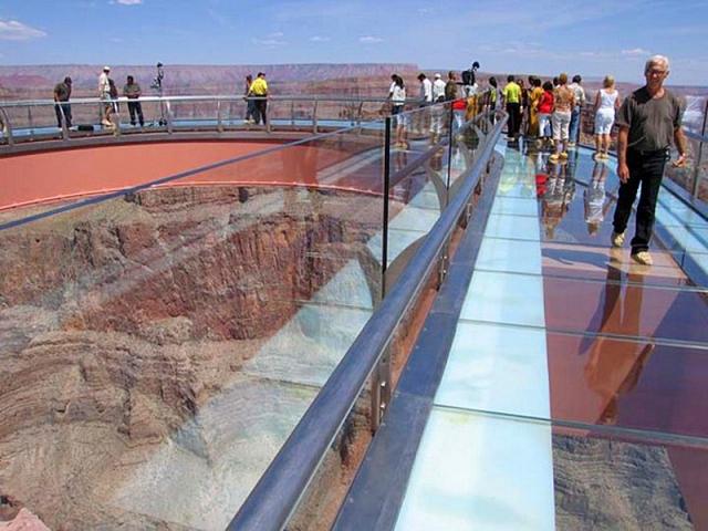 Смотровая площадка Grand Canyon Sky Wall