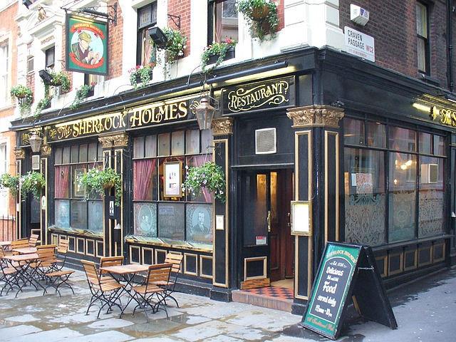 Путешествие страницами книги: Sherlock Holmes Pub