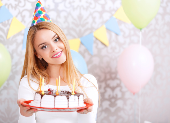 Красивые поздравления женщине с днем рождения